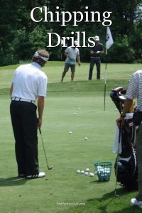 Golf chipping drills to improve your short game.