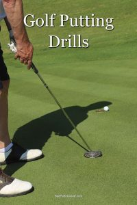Some golf putting drills