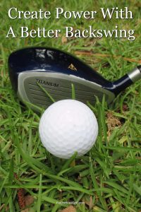 How to create more power in your shots with a better backswing