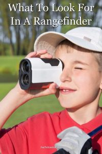 What to look for in a golf rangefinder