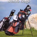 Header image for article on the best golf stand bags