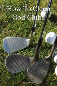 How to clean your golf clubs and grips