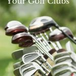 Header image for article on how to clean golf clubs and golf grips