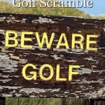 How to play a golf scramble