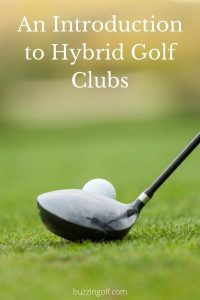 Header image for article on introduction to hybrid golf clubs