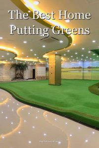 Reviews of the best indoor putting greens for the home