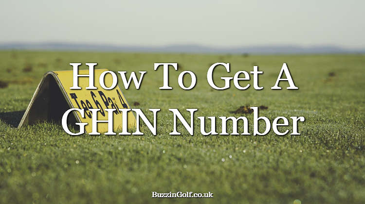 Article explaining how to get a GHIN number