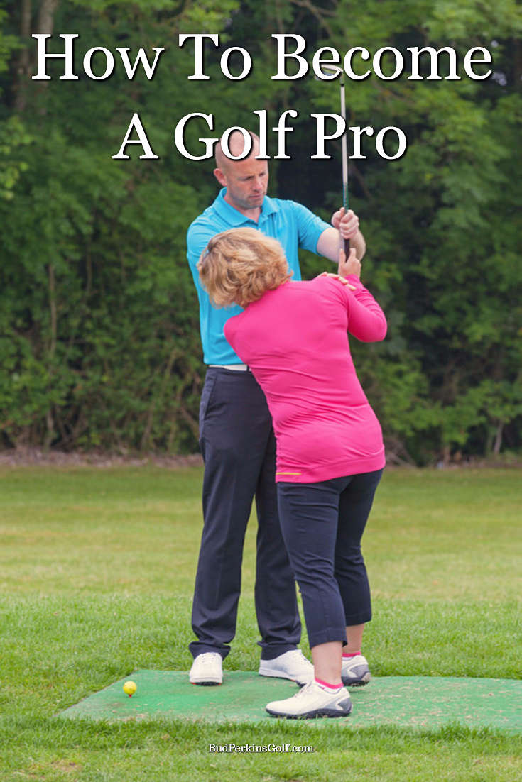 Tips and advice on how to become a golf pro