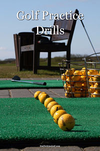 These golf practice drills will help improve your game